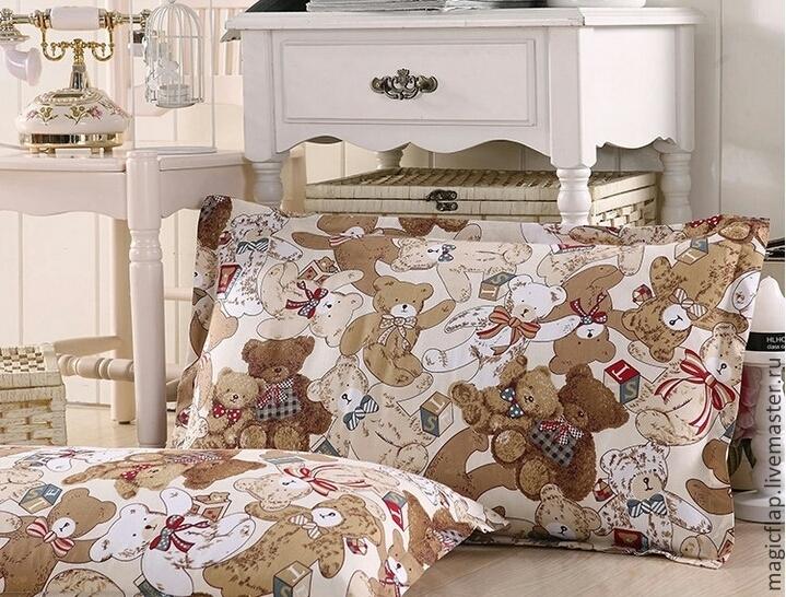 Ткань постельная шитье