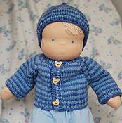 Куклы и игрушки ручной работы. Ярмарка Мастеров - ручная работа Вальдорфский пупс 48 см с набором одежды. Handmade.