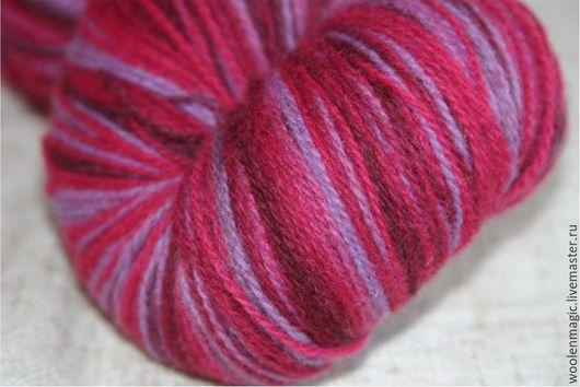 Вязание ручной работы. Ярмарка Мастеров - ручная работа. Купить Кауни Blum 8/1 - 8/2. Handmade. Разноцветный, пряжа для вязания
