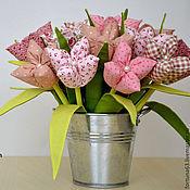 Цветы и флористика handmade. Livemaster - original item Textile flowers. Handmade.