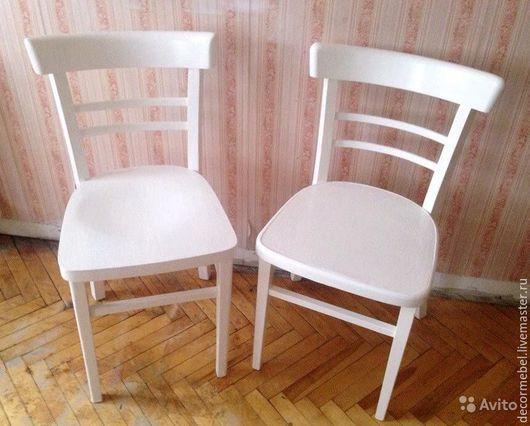 Мебель ручной работы. Ярмарка Мастеров - ручная работа. Купить Белые стулья. Handmade. Белый, столовая, Мебель, реставрация, тонет