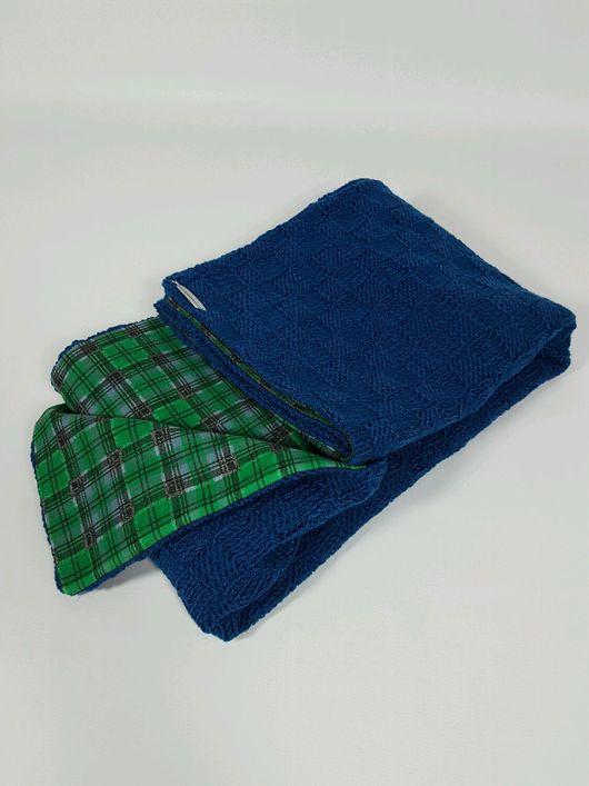 Пледы и одеяла ручной работы. Ярмарка Мастеров - ручная работа. Купить Детский пледик двухсторонний. Handmade. Комбинированный, двухстороннее одеяло