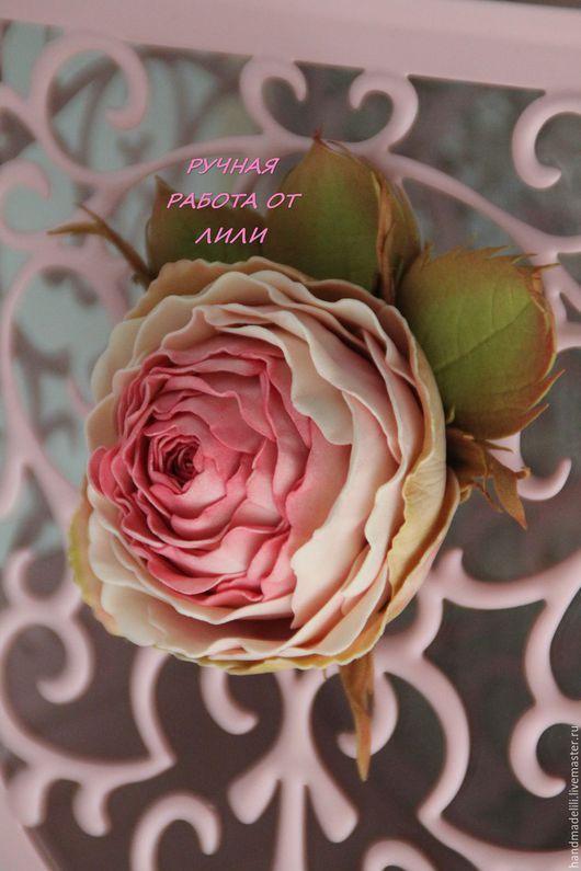 """Заколки ручной работы. Ярмарка Мастеров - ручная работа. Купить Розы """"First Lady"""".. Handmade. Фуксия, заколка для волос, фоам"""