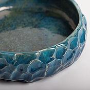 Посуда ручной работы. Ярмарка Мастеров - ручная работа Миска морские волны. Handmade.