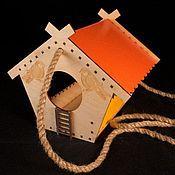 Для домашних животных, handmade. Livemaster - original item A bird feeder engraved with