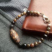 Decorations handmade. Livemaster - original item Men`s bracelet