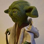 Куклы и игрушки ручной работы. Ярмарка Мастеров - ручная работа Йода.. Handmade.