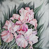 Аксессуары handmade. Livemaster - original item Scarf Watercolor. Handmade.