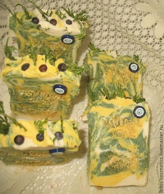 Мыло ручной работы. Ярмарка Мастеров - ручная работа. Купить МЫЛО ОБЕРЕГ, от порчи и сглаза. Handmade. Зеленый, мыло оберег
