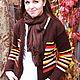 """Кофты и свитера ручной работы. Ярмарка Мастеров - ручная работа. Купить Кофта женская """"Осенний цвет """"2. Handmade. Коричневый"""