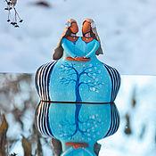"""Для дома и интерьера ручной работы. Ярмарка Мастеров - ручная работа Скульптура """"Близнецы"""". Handmade."""