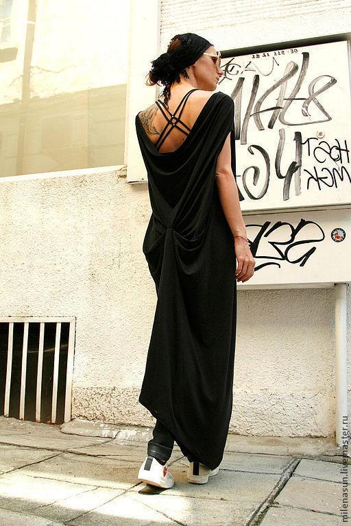 Платья ручной работы. Ярмарка Мастеров - ручная работа. Купить Платье Posh. Handmade. Туника, женское платье, платье на лето