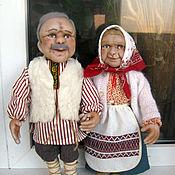 Куклы и игрушки ручной работы. Ярмарка Мастеров - ручная работа Бабушка и Дедушка. Handmade.