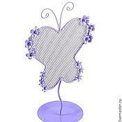 Материалы для творчества ручной работы. Ярмарка Мастеров - ручная работа Подставка для серег в виде Бабочки (3 вида!!!). Handmade.