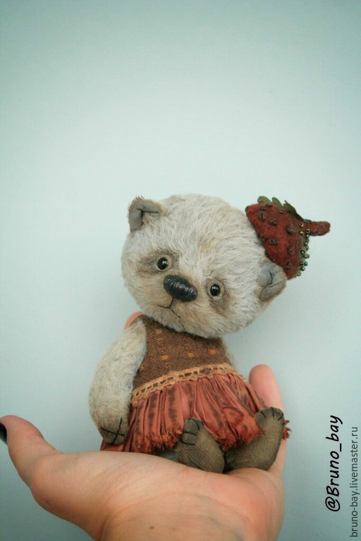 Мишки Тедди ручной работы. Ярмарка Мастеров - ручная работа. Купить Джейн. Handmade. Голубой, teddybear, авторская игрушка