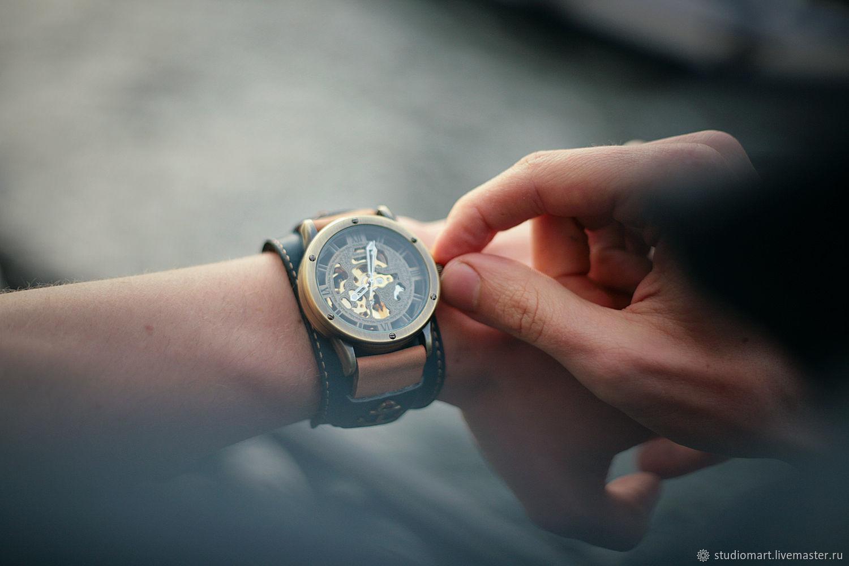 7147b43b Наручные часы ручной работы. Ярмарка Мастеров - ручная работа. Купить Часы  механические наручные Anchor ...