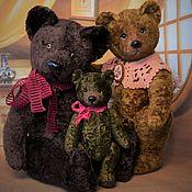 Куклы и игрушки handmade. Livemaster - original item The three bears (according to the Soviet pattern). Handmade.