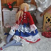 """Куклы и игрушки ручной работы. Ярмарка Мастеров - ручная работа Кукла в стиле Тильда """"Уютное Рождество"""". Handmade."""