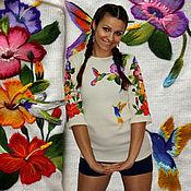 """Одежда handmade. Livemaster - original item Jacket """"Hummingbird"""". Handmade."""