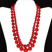 Украшения handmade. Livemaster - original item Necklace made of natural coral (m). Handmade.