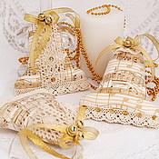 """Подарки к праздникам ручной работы. Ярмарка Мастеров - ручная работа Колокольчики на ёлку """"Jazz"""". Handmade."""