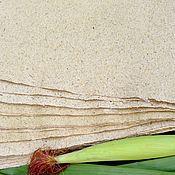 Материалы для творчества handmade. Livemaster - original item Corn handmade paper for writing. Handmade.