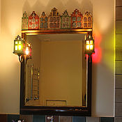 Для дома и интерьера ручной работы. Ярмарка Мастеров - ручная работа Зеркало Амстердам. Handmade.