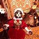 Коллекционные куклы ручной работы. авторские куклы кошки Марсилья и Фредерик. Екатерина Николенко. Интернет-магазин Ярмарка Мастеров. Коричневый