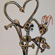 Model handmade. Livemaster - original item The lovers at the fountain. Handmade.