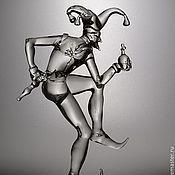 """Для дома и интерьера ручной работы. Ярмарка Мастеров - ручная работа """"Кесарь"""" из коллекции """"Шуты"""". Handmade."""