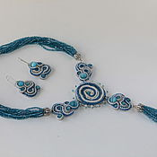 Украшения handmade. Livemaster - original item Set cruise author`s embellishment beaded jewelry cut. Handmade.
