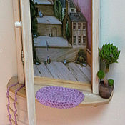 """Для дома и интерьера ручной работы. Ярмарка Мастеров - ручная работа """"Дверь к счастью! Сказка.""""  -  ключница панно. Handmade."""