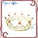 """Свадебные украшения ручной работы. Ярмарка Мастеров - ручная работа. Купить корона """"Король"""". Handmade. Лето, жених, золотой"""