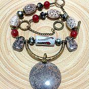Украшения handmade. Livemaster - original item Necklace ethnic beads made from natural materials Turtle island.. Handmade.