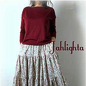 Одежда handmade. Livemaster - original item Falda de Verano el viento
