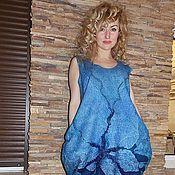 """Одежда ручной работы. Ярмарка Мастеров - ручная работа Платье-баллон """"Ноченька"""". Handmade."""