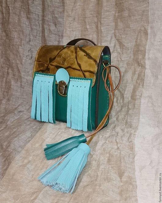 Женские сумки ручной работы. Ярмарка Мастеров - ручная работа. Купить Mini Mini Odonata. Handmade. Комбинированный, Итальянская кожа