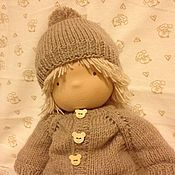 Куклы и игрушки handmade. Livemaster - original item Waldorf doll. A boy doll. 40 - 42 cm. Handmade.