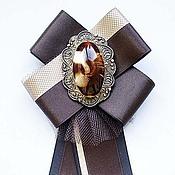 Украшения ручной работы. Ярмарка Мастеров - ручная работа Брошь - галстук. Handmade.