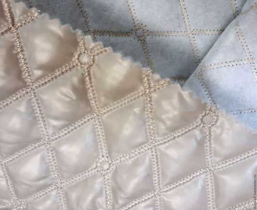 Шитье ручной работы. Ярмарка Мастеров - ручная работа. Купить Курточная ткань. Handmade. Бежевый, ткань для творчества, платье