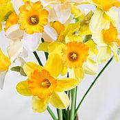 Цветы и флористика ручной работы. Ярмарка Мастеров - ручная работа Нарциссы. Handmade.