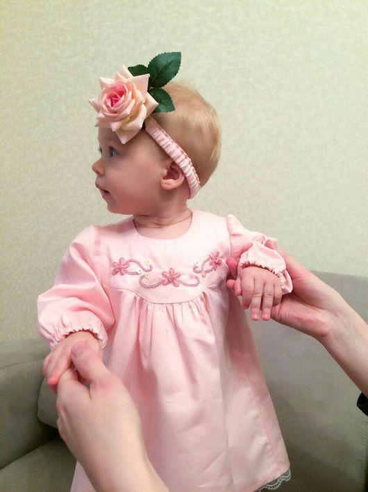 """Одежда для девочек, ручной работы. Ярмарка Мастеров - ручная работа. Купить Платье для принцессы """"Розочка"""". Handmade. Платье, ручная вышивка"""