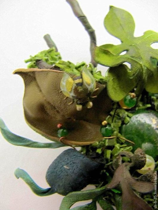 """Броши ручной работы. Ярмарка Мастеров - ручная работа. Купить Брошь по мотивам """"И будет сниться лес"""". Handmade. Зеленый"""