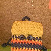 """Сумки и аксессуары ручной работы. Ярмарка Мастеров - ручная работа Рюкзак вязаный """"Теплая Осень"""". Handmade."""
