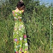 """Одежда ручной работы. Ярмарка Мастеров - ручная работа По мотивам платья  """"Весна"""". Handmade."""