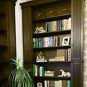 Для дома и интерьера ручной работы. Ярмарка Мастеров - ручная работа Книжный шкаф Мебель для кабинета Библиотека. Handmade.