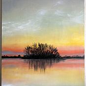 Картины и панно handmade. Livemaster - original item Red sunset. Handmade.