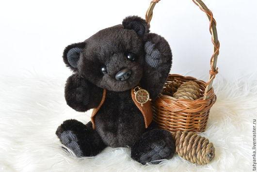 """Мишки Тедди ручной работы. Ярмарка Мастеров - ручная работа. Купить Мишка тедди """"Брауни"""". Handmade. Мишка-тедди, коричневый"""