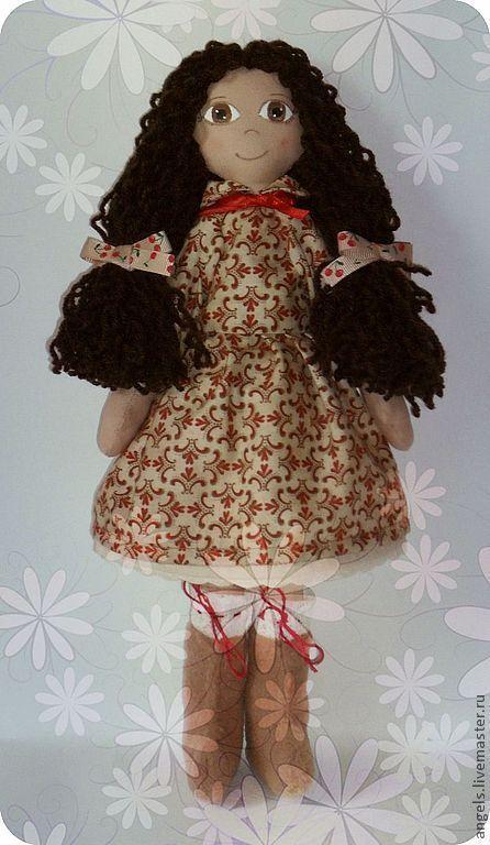 Человечки ручной работы. Ярмарка Мастеров - ручная работа. Купить Ева. Handmade. Интерьерная кукла, 8 марта, шерстяные нити