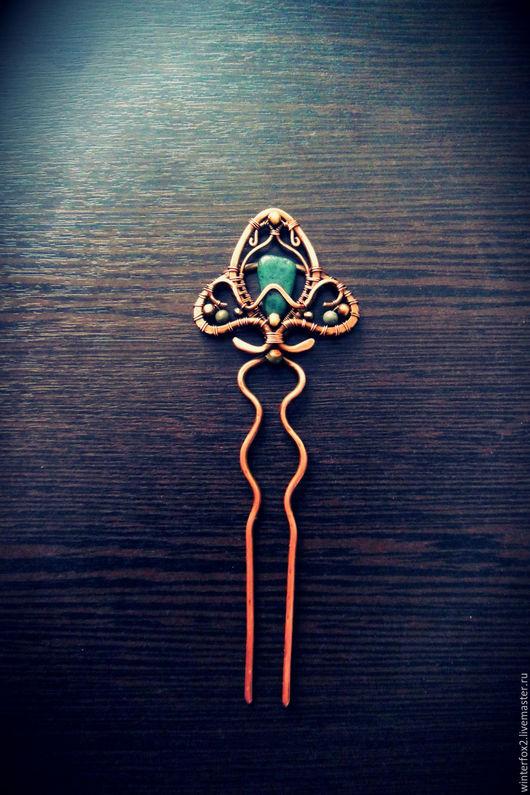 Заколки ручной работы. Ярмарка Мастеров - ручная работа. Купить Трилистник. Handmade. Тёмно-зелёный, ирландия